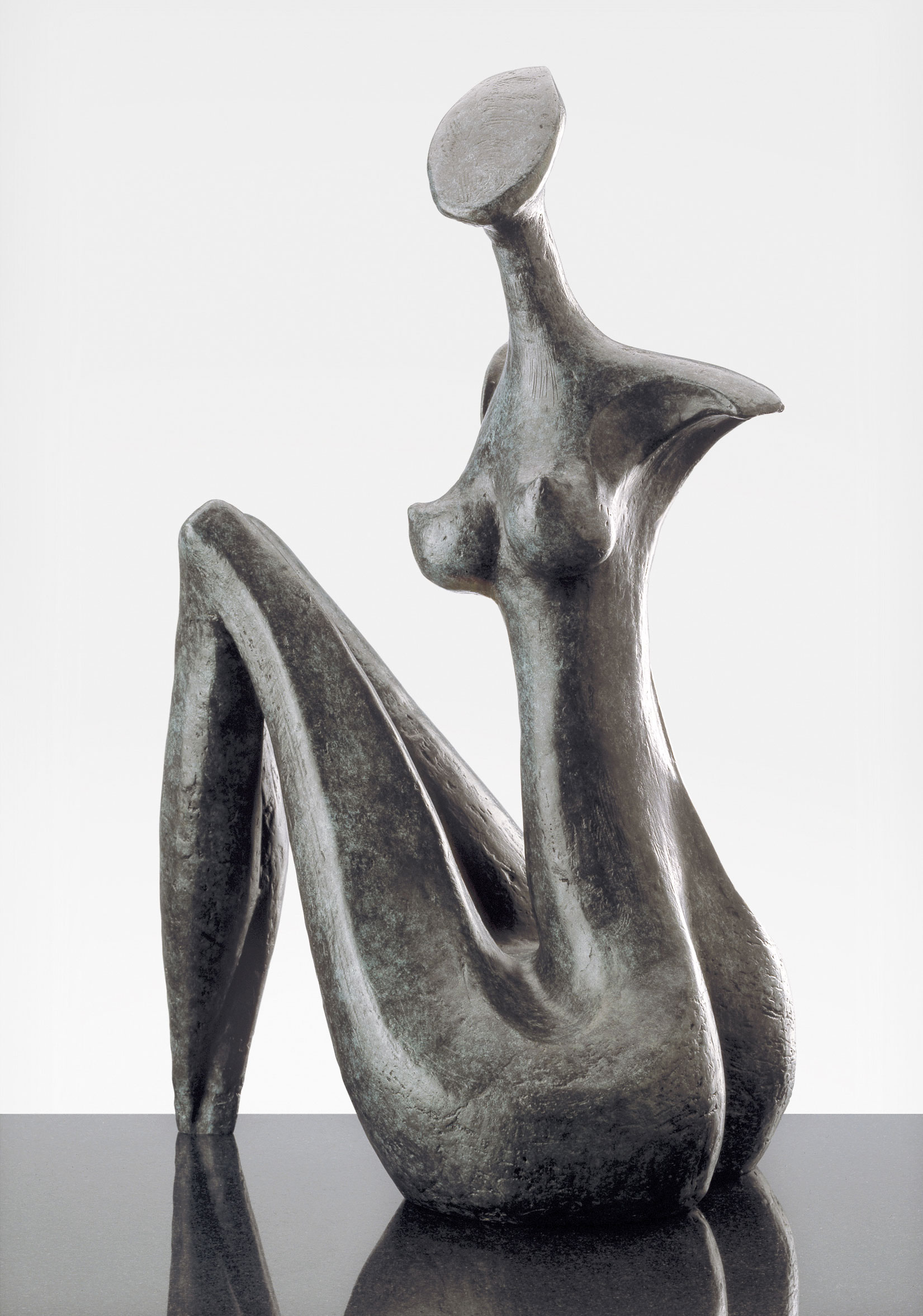 Lara, sculpture bronze de Marion Bürklé