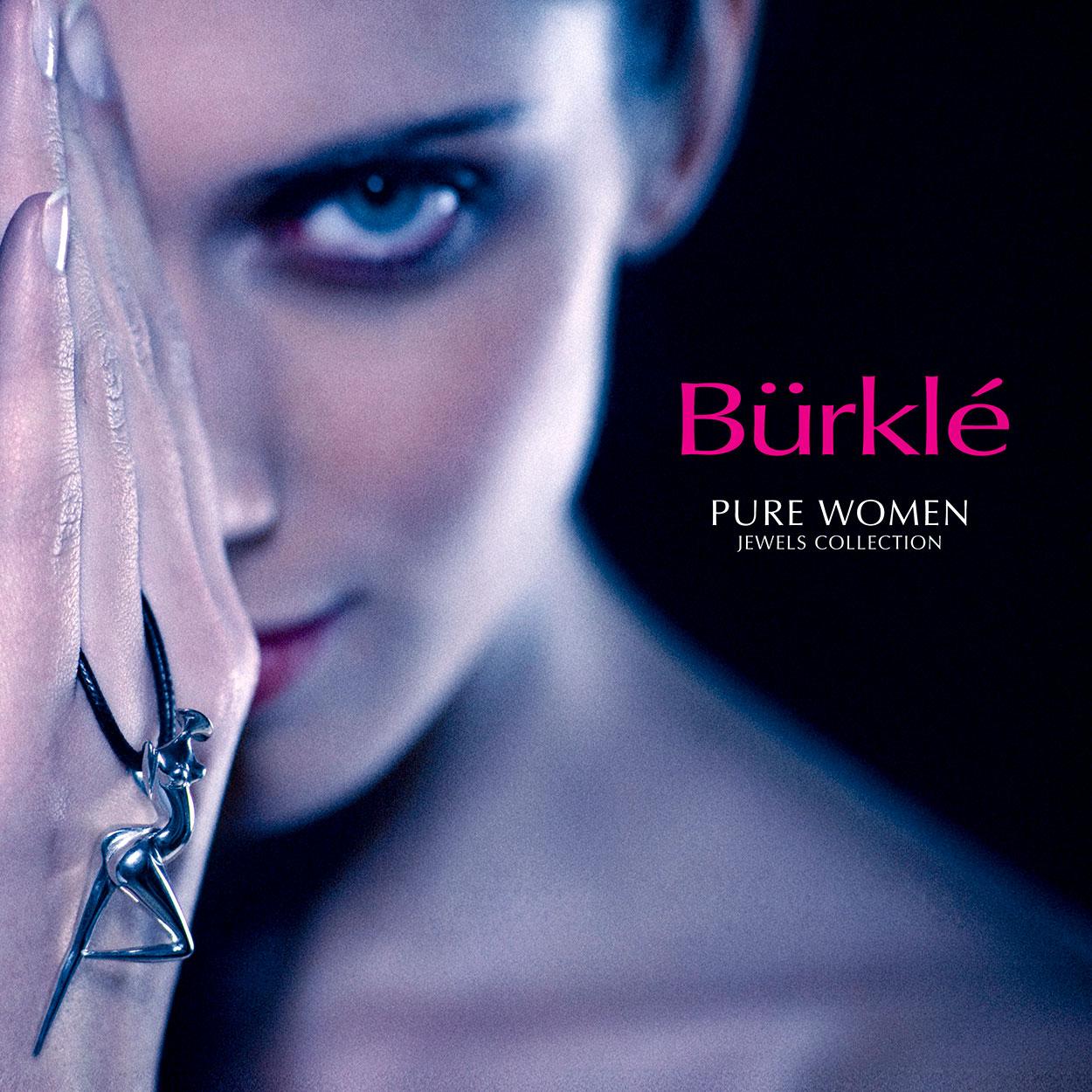 Bijou contemporain en Argent par Marion Bürkle - La Danseuse