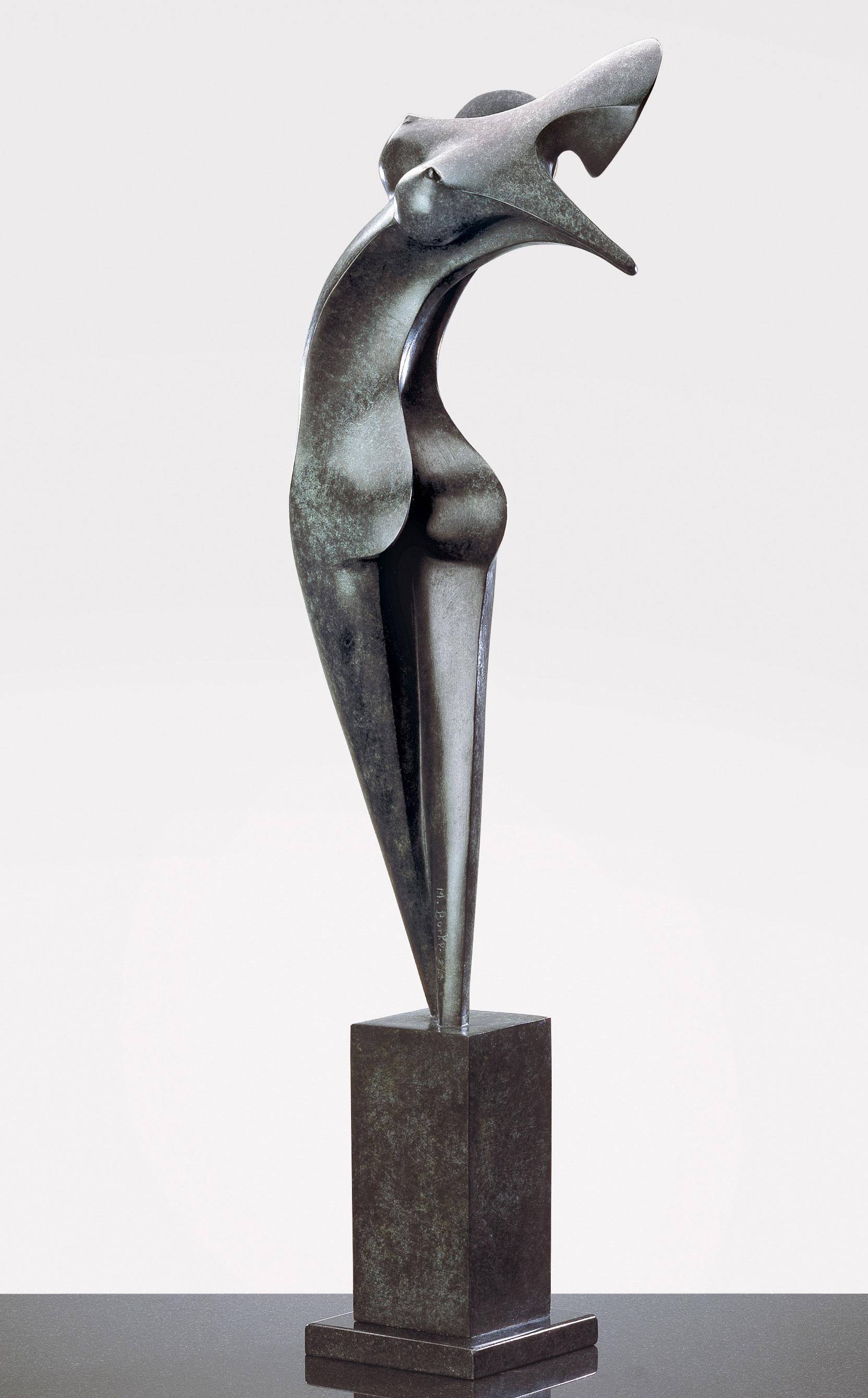 Nina, sculpture bronze de Marion Bürklé