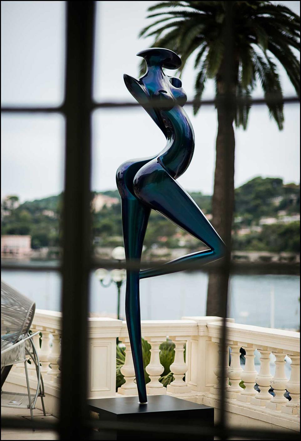 Sculpture La grande Danseuse de Marion Bürklé