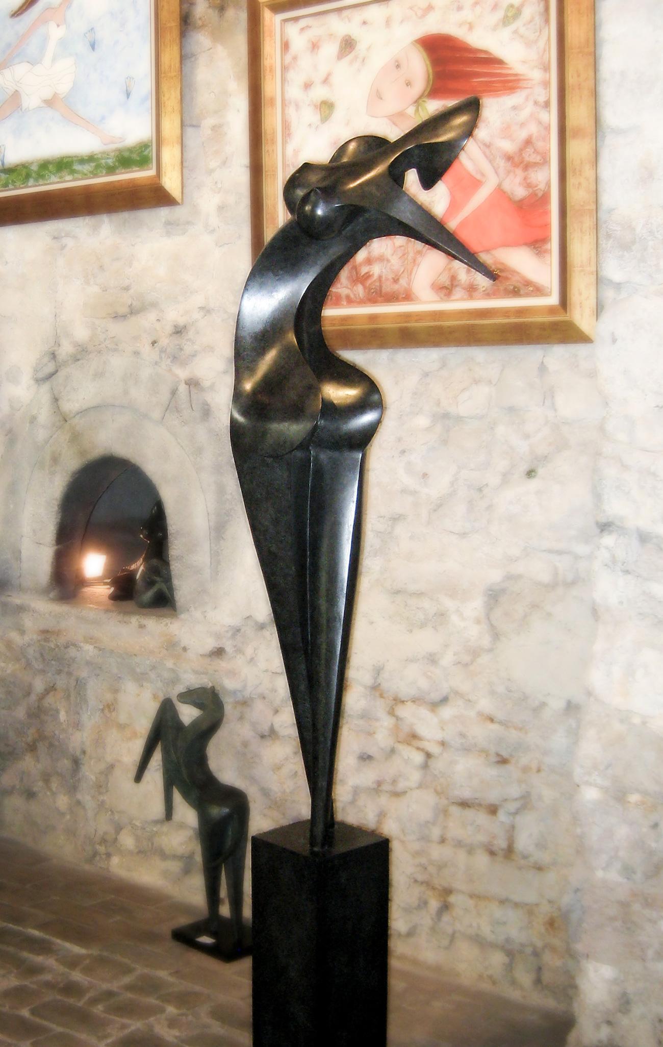 Nina, Bronze sculpture of Marion Bürklé