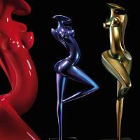 Danseuse, scultpture en carbone de Marion Bürklé