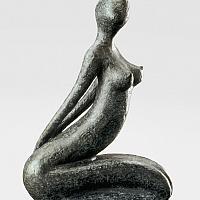 Désir, sculpture bronze de Marion Bürklé